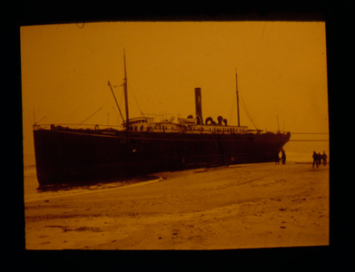 Big Steamer on the Beach