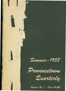 Provincetown Quarterly - Summer 1958