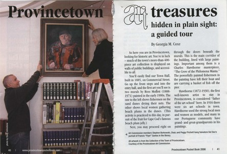 Provincetown Art Treasures Hidden in Plain Sight, 2006