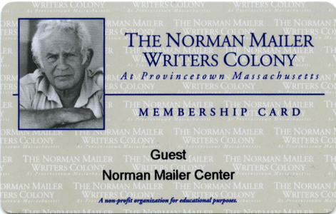 The Norman Mailer Writers Colony Membership Card