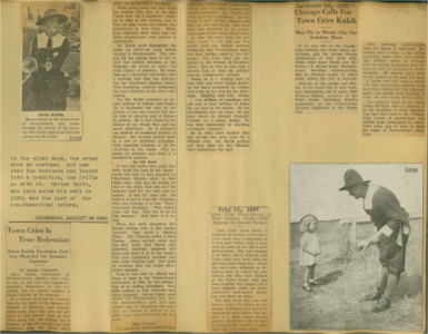 Scrapbooks of Althea Boxell (1/19/1910 - 10/4/1988), Book 4, Page 73