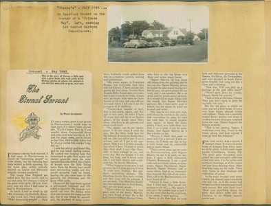 Scrapbooks of Althea Boxell (1/19/1910 - 10/4/1988), Book 6, Page 102