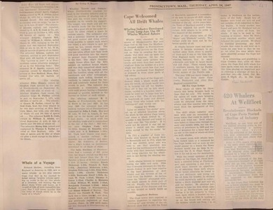 Scrapbooks of Althea Boxell (1/19/1910 - 10/4/1988), Book 7, Page 65