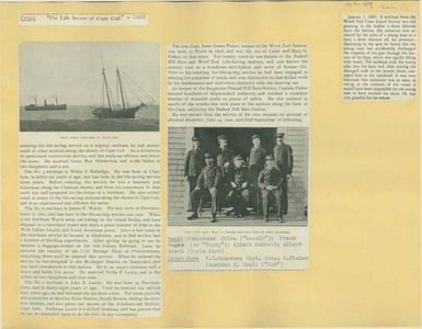 Scrapbooks of Althea Boxell (1/19/1910 - 10/4/1988), Book 7, Page 89