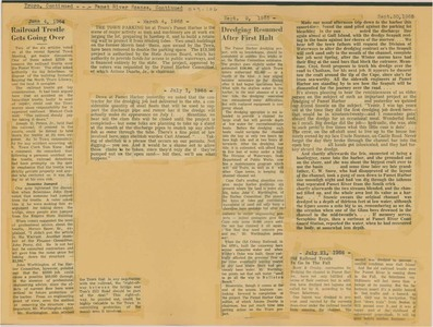 Scrapbooks of Althea Boxell (1/19/1910 - 10/4/1988), Book 9, Page106