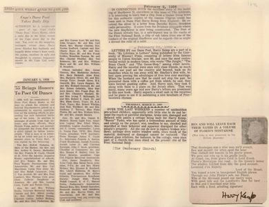 Scrapbooks of Althea Boxell (1/19/1910 - 10/4/1988), Book 10, Page 12