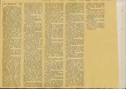 Scrapbooks of Althea Boxell (1/19/1910 - 10/4/1988), Book 11, Page  60