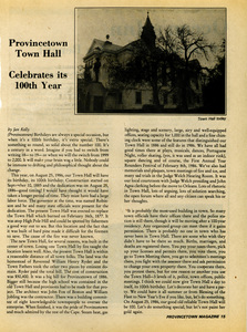 Kelly's Corner 049 - Town Hall turns 100 years old