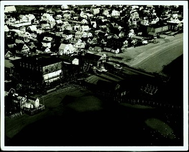 Aerial Photograph of Flyer's Boatyard