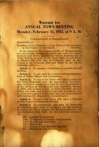 Town Meeting 1935