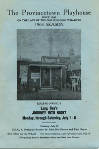 Provincetown Playhouse 1963