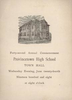 Provincetown High School Commencement Program June 1908