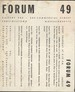 Forum 49 Art Forums August 4, - Sept. 1, 1949