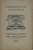 Provincetown Art Association Exhibition 1924