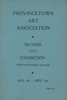 Provincetown Art Association Exhibition (Second) 1951