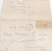 Envelope from Thelma Given correspondence