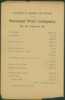 National Weir Co. 1902  Statement of Earnings and Expenses