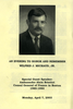 Wilfrid J. Michaud, Jr. biographical information, 2003