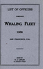 Whaling Fleet Officers - 1908