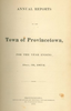 Annual Town Report - 1872