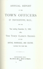 Annual Town Report - 1888
