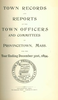 Annual Town Report - 1894