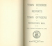 Annual Town Report - 1898