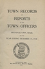 Annual Town Report - 1918