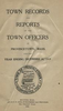 Annual Town Report - 1919
