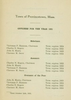 Annual Town Report - 1921