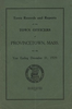 Annual Town Report - 1929
