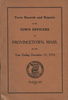 Annual Town Report - 1932