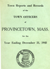 Annual Town Report - 1948