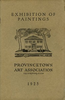Provincetown Art Association Exhibition of 1925