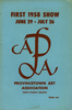 Provincetown Art Association Exhibition of 1958