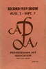 Provincetown Art Association Exhibition of 1959 (2nd)