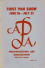 Provincetown Art Association Exhibition of 1960 (1st)