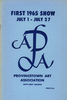 Provincetown Art Association Exhibition of 1965 (1st)