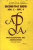 Provincetown Art Association Exhibition of 1967 (2nd)