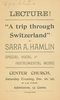 A Trip Through Switzerland (December 26, 1896)