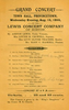 Lewis Concert Company (August 16, 1889)