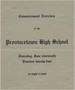 Commencement Program - 1924